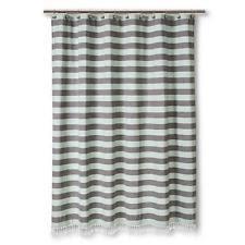 White Cotton Duck Shower Curtain Shower Curtains Ebay