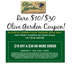 print this 10 30 olive garden coupon you rarely see high value