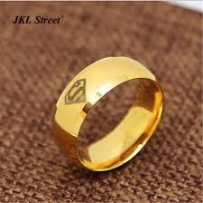 superman wedding ring jkl dc laser comics superman wedding ring 8mm stainless steel