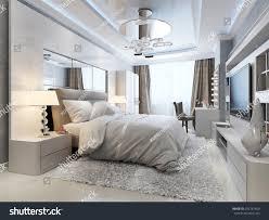 Bedroom Designer 3d Luxury Bedroom Interior 3d Picture Stock Photo 256761400