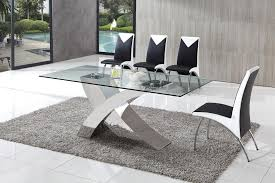 Glass Dining Table Sets Dining Table And Chairs Glass Dining Table Modenza Furniture Chic