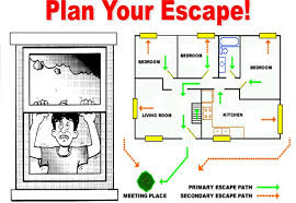 home escape plan fire prevention week tips to ready yourself and your home from