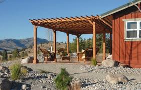 Pergola Rafter End Designs by Pergola Attached To House Guide Med Art Home Design Posters