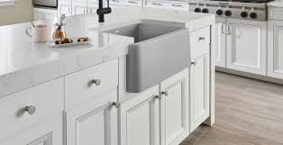 what size undermount sink for 33 inch base cabinet shop blanco ikon apron front kitchen sinks blanco