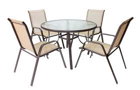 Round Patio Table by Glendale Round Patio Table Mor Furniture For Less