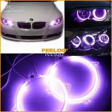 how to install led lights in car headlights waterproof for purple 80mm car headlight light ccfl angle eyes light