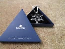 swarovski snowflake annual ornament 2012 ebay