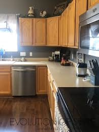 kitchen cabinet color honey painted kitchen cabinets in white dove evolution of style