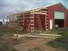 How To Build A Pole Barn Shed Roof by Michels Post Frame Bulidings