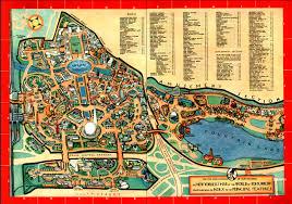 State Series Quarters Collector Map by New York World U0027s Fair Map 1964 Vintage Photos U0026 Ephemera