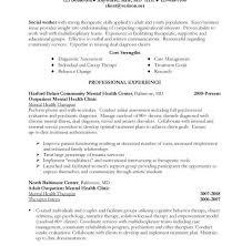 wondrous inspration social work resumes 5 sample social work