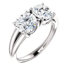 2 engagement rings 2 engagement rings miller jewelry designers