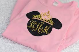 minnie mouse monogram golden princess minnie mouse ears add a birthday number with