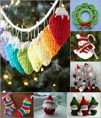 crochet ornaments centerpiece ideas