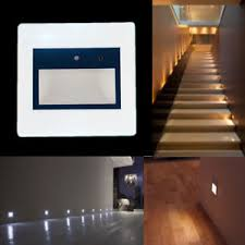hall and stairs lighting motion sensor led wall recessed stairs light hall hotel footlight