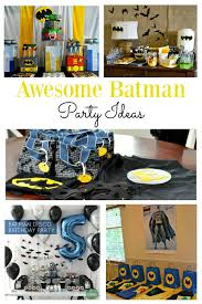 homemade batman birthday decorations image inspiration of cake