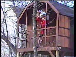 Backyard Zip Line Without Trees by Backyard Zipline Out Of The Tree House 3 28 Youtube