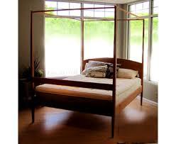 Poster Bed Canopy Maple Corner Woodworks Shaker 4 Post Bed Frame