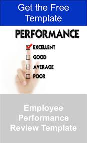 employee performance review template u2014 manager foundation