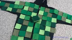minecraft costumes easy minecraft creeper costume that s comfy to wear