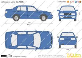 volkswagen vento 1994 the blueprints com vector drawing volkswagen vento cl