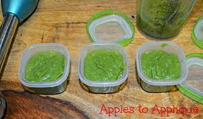 apples to applique homemade baby food