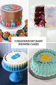 9 delicious diy baby shower cakes shelterness