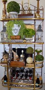 Decorating A Bakers Rack Ideas Love The Arraignments On Each Shelve Great Ideas For On Top Of