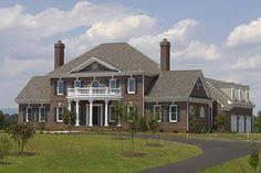 Federal Style House Plans Elevation Of Plan 47331 House Plans Pinterest Car Garage