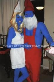 Smurf Halloween Costumes 143 Smurfs Images Modeling Birthday Cakes