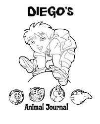 diego animal journal diego coloring netart