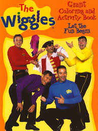 the wiggles giant coloring u0026 activity books let the fun begin
