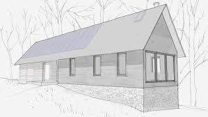 earth sheltered house plans earth berm home plan with style 57130ha architectural designs
