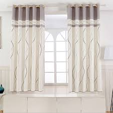 Short Curtains For Living Room by 1 Panel Short Curtains Window Decoration Modern Kitchen Drapes