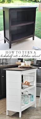 repurposed kitchen island ideas bookshelf kitchen island tutorials kitchens and house