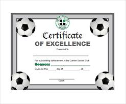 free soccer certificate templates expin radiodigital co