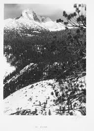 ansel adams yosemite and the range of light poster the early photos of ansel adams looking back at the work of a black