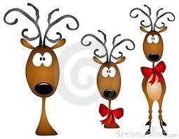 25 cartoon reindeer ideas reindeer