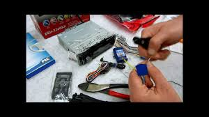 how to wire up and prep a new radio dash kit harness and
