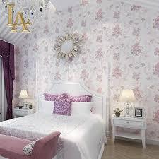 Schlafzimmer Rosa Geprägte Beflockung Rosa Grün Lila Damast Pfingstrose Blumen