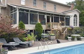 Backyard Screen House by Screen Room Tinley Park Naperville Il