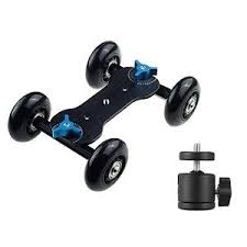 roller ball table top table top camera dv video rail roller track slider dolly car glide