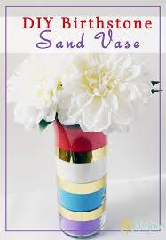 Sand Vase Diy Birthstone Sand Vase Your Everyday Family