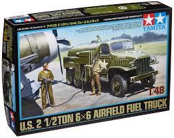 tamiya 1 48 u s 2 1 2ton 6x6 airfield fuel truck 32579 amazon