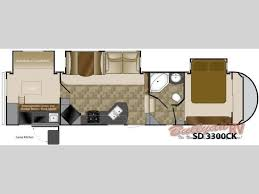 100 fifth wheel bunkhouse floor plans bunkhouses starcraft