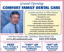 Comfort Family Dentistry Comfort Family Dental Care West Chester Pa