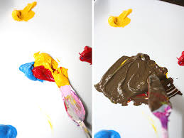color mixing 101 how to mix brown paint in acrylic acrylics and