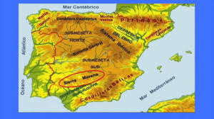 What Is A Physical Map Spain Geography Youtube