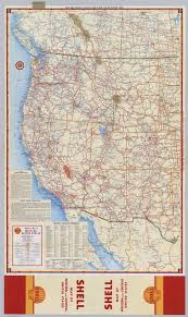 us states detailed map shell highway map of western united states david rumsey