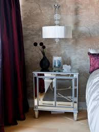 bedroom nightstand night stand lights cube bedside table